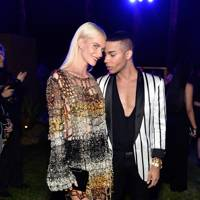 Poppy Delevingne and Olivier Rousteing