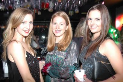 Olivia Bennett, Celia Thursfield and Natasha Callin
