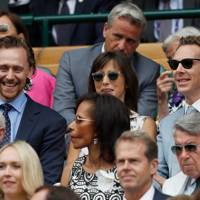 Tom Hiddleston, Sophie Hunter and Benedict Cumberbatch