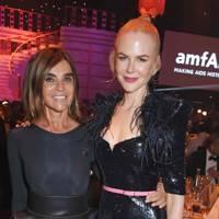 Carine Roitfeld and Nicole Kidman