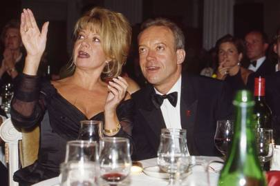 Elaine Paige and Nickolas Grace