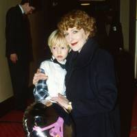 Alexander Owen and Patricia Hodge