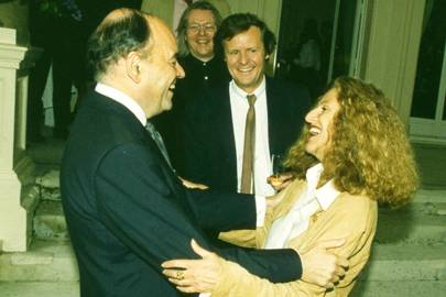 Jean Gueguinou, Sir David Hare and Lady Hare