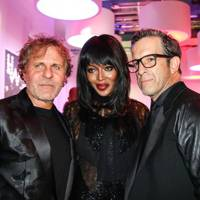 Renzo Russo, Naomi Campbell and Kenneth Cole
