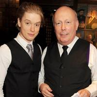 Freddie Fox and Lord Fellowes