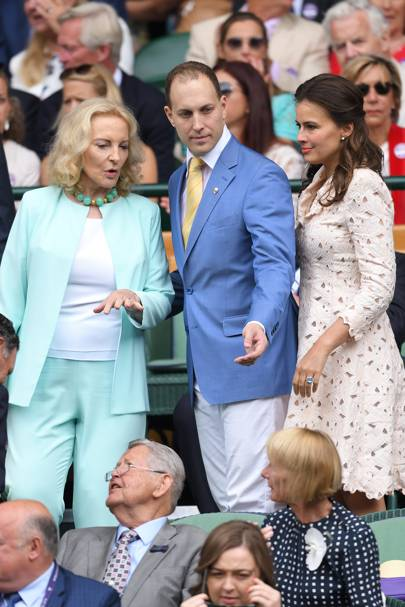 Princess Michael of Kent, Lord Frederick Windsor and Lady Frederick Windsor