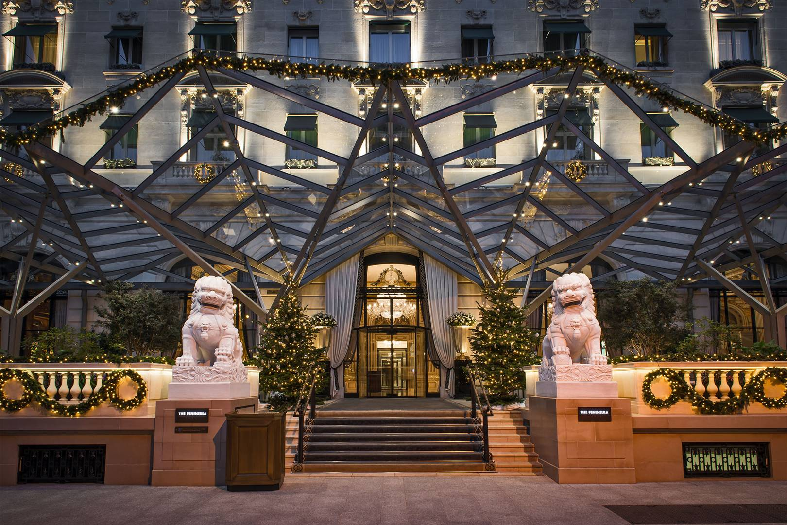 Why The Peninsula Paris is the most luxuriously festive hotel in all of France