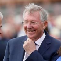 Ruby Walsh and Sir Alex Ferguson