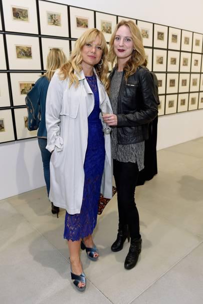 Kate Bryan and Jenny Scott