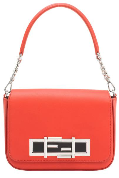 Leather bag, £1,520, by Fendi