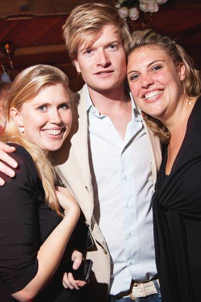 Iona McDonald, Michael Krayenhoff and Charlotte van Schelle