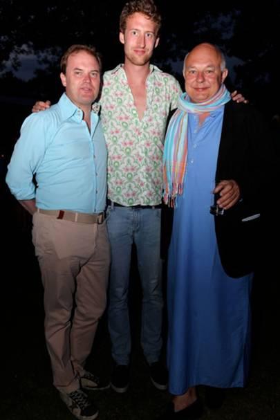 Harry Dalmeny, Freddie Hesketh and Rolf Sachs