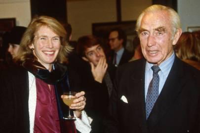 The Hon Mrs de Laszlo and Roderick Walter