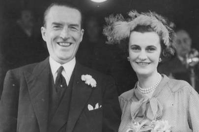 Marrying the Duke Of Argyll  at Caxton Hall in 1951