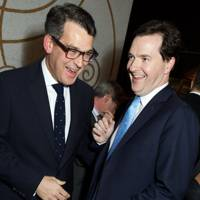 Matthew Dixon and George Osborne