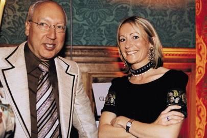 Urs Schwarzenbach and Mrs Jeremy Alun-Jones