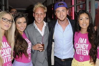 Jamie Laing, Francis Boulle and the Candy Kittens
