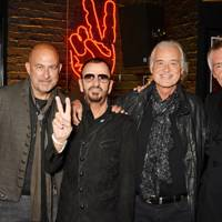 John Varvatos, Ringo Starr, Jimmy Page and Paul Weller