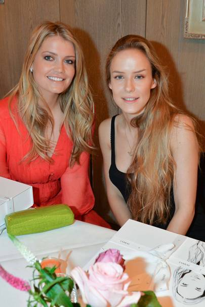 Lady Kitty Spencer and Hum Fleming