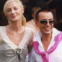 Joely Richardson and Julien Macdonald