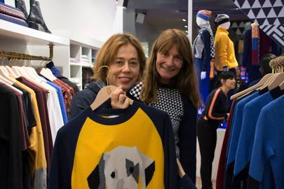 Lisa Armstrong and Victoria Stapleton