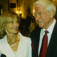 Mrs Michael Howard and Sidney Sheldon