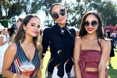 Sophie Lopez, Ashley Madekwe and Cara Santana
