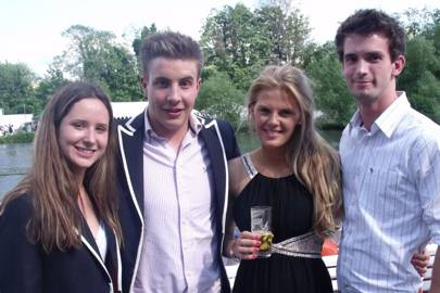 Sian Teasdale, Gatien Proyart, Jessica Hayes and Toby Forester
