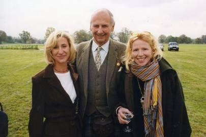 Mrs Julian Llewellen Palmer, Robin Stormonth Darling and Mrs Simon Reekie