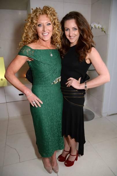 Kelly Hoppen and Natasha Corrett
