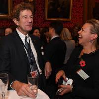 Lord Faulks and Maria Norman