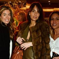 Sophie Stanbury, Julie Brangstrup and Lily Hodges