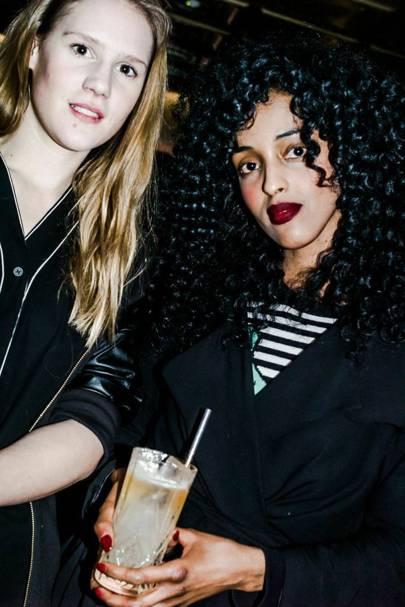 Anna Raffaella Boglione and Cat Black