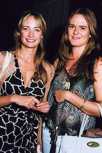 Clemmie Hambro and Gemma Soames