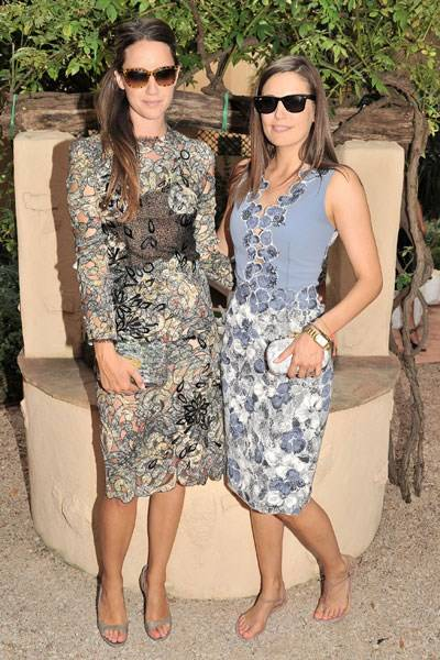 India Langton and Amanda Ferry