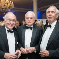 Lord Howard, Martyn Lewis and Tom Bower