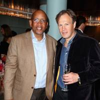 Prince Seeiso Bereng Seeiso and Tom Bradby