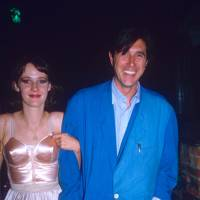Lucy Ferry and Bryan Ferry, 1986
