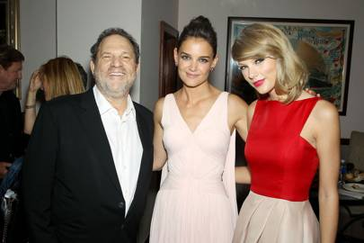 Harvey Weinstein, Katie Holmes and Taylor Swift