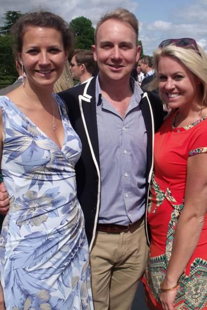 Poppy Lamberton, Rich Cross and Chemmy Alcott