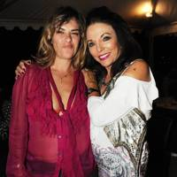 Tracey Emin and Joan Collins