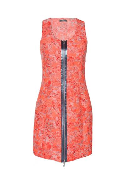 Jacquard dress, £460, by Markus Lupfer