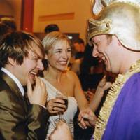 Nick Rhodes, Madelaine Farley and Mark Ward