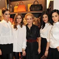 Amber Le Bon, Olivia Palermo, Caroline Herrera, Julia Roitfeld and Leigh Lezark