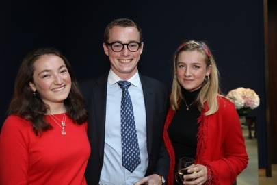 Rosie Blackett, Harry Parker and Emily Watson