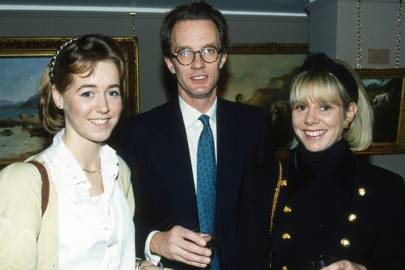 Mrs Michael Gill, John Leveson and Mrs John Leveson