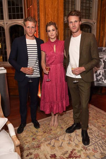 Josh Dylan, Stefanie Martini and Hugh Skinner