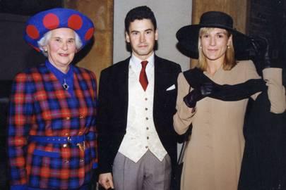 Mrs Julian Milliken, Christopher Milliken and Mrs Christopher Milliken