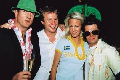 Charlie Hoffman, Jo Bamford, Kirsten de la Beck and Jake Heimann
