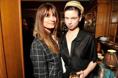 Caroline de Maigret and Lily McMenamy